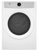 "EFDG317TIW Electrolux 27"" 8.0 Cu. Ft. Gas Front-Load Dryer with 5 Cycles and Reversible Door  - White"