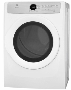 """EFDG317TIW Electrolux 27"""" 8.0 Cu. Ft. Gas Front-Load Dryer with 5 Cycles and Reversible Door  - White"""