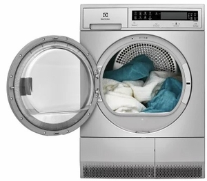 "EFLS210TIS Electrolux 24"" Front Load 2.4 Cu. Ft. Washer with IQ-Touch Controls and Perfect Steam - Stainless Steel"