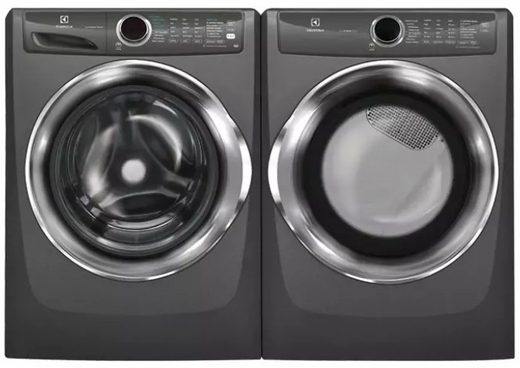 """EFLS527UTT Electrolux 27"""" Front Load 4.3 Cu. Ft. Washer with IQ-Touch Controls and LuxCare Wash System - Titanium"""