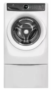 """EFLW427UIW Electrolux 27"""" Front Load 4.3 Cu. Ft. Washer with IQ-Touch Controls and LuxCare Wash System - Island White"""