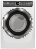 "EFME527UIW Electrolux 27"" 8.0 Cu. Ft. Electric Front-Load Dryer with 8 Cycles and Perfect Steam Wrinkle Release Option - Island White"