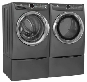 """EFME527UTT Electrolux 27"""" 8.0 Cu. Ft. Electric Front-Load Dryer with 8 Cycles and Perfect Steam Wrinkle Release Option - Titanium"""
