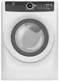 EFMG417SIW Electrolux Gas Dryer with Reversible Door & LED Display - White