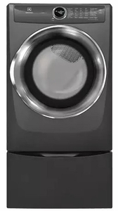 "EFMG527UTT Electrolux 27"" 8.0 Cu. Ft. Gas Front-Load Dryer with 8 Cycles and Perfect Steam Wrinkle Release Option - Titanium"
