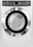 EFMG617SIW Electrolux 8.0 Cu. Ft. Gas Dryer with Perfect Steam Wrinkle Release Option - White