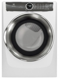 "EFMG627UIW Electrolux 27"" 8.0 Cu. Ft. Gas Front-Load Dryer with 9 Cycles and Perfect Steam Wrinkle Release Option - Island White"
