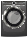 "EFMG627UTT Electrolux 27"" 8.0 Cu. Ft. Gas Front-Load Dryer with 9 Cycles and Perfect Steam Wrinkle Release Option - Titanium"