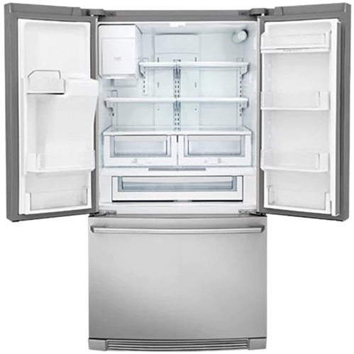 """EI23BC37SS Electrolux 36"""" 22.4 cu. ft. Capacity Counter Depth French Door Refrigerator with IQ-Touch Controls and Self-Closing Doors - Stainless Steel"""