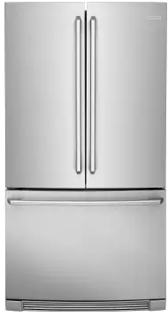 "EI23BC82SS Electrolux 36"" 22.3 Cu. Ft. Capacity Counter Depth French Door Refrigerator with IQ-Touch Controls and Self-Closing Doors - Stainless Steel"
