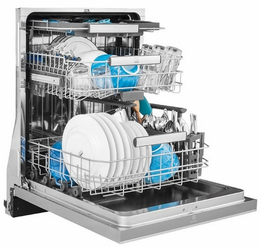 "EI24CD35RS Electrolux 24"" Built-in Dishwasher with IQ Touch Controls - Stainless Steel"
