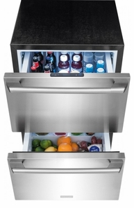 EI24RD10QS Electrolux - Undercounter Refrigerator Drawers - Stainless Steel