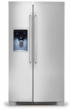 EI26SS30JS Electrolux - 26 Cu. Ft. Side-by-Side Refrigerator - Stainless Steel