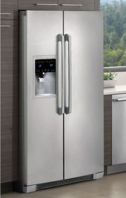 electrolux 26 cu ft side by side stainless steel