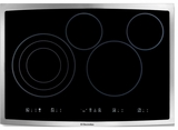 EI30EC45KS Electrolux - Electric Cooktop - Black with Stainless Trim