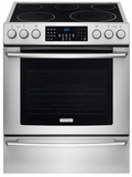 "EI30EF45QS Electrolux 30"" Electric Freestanding Range with Front Controls & Dual Convection - Stainless Steel"