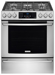 "EI30GF45QS Electrolux - 30"" Gas Freestanding Range with Front Controls & Convection - Stainless Steel"