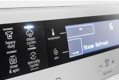 electrolux washer eifls20qsw laundry eifls20qsw electrolux 24 cu ft front load compact washer white