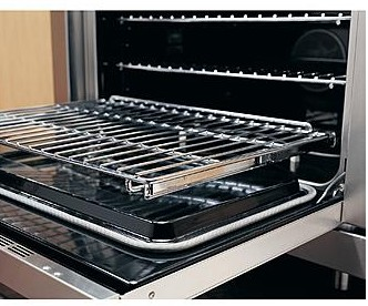 """ER30DSCHNG Dacor Rennaissance 30"""" Dual Fuel Pro Style Range - Natural Gas - Stainless Steel with Chrome Trim"""