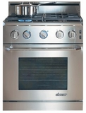 "ER30GISCHLP Dacor Renaissance 30"" All Gas Range - Liquid Propane - Stainless Steel"