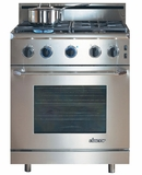 "ER30GSCHLP Dacor Renaissance 30"" All Gas Range - Liquid Propane - Stainless Steel"