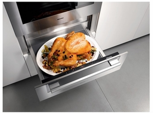 """ESW6780SS Miele 30"""" ContourLine Warming Drawer - Stainless Steel"""
