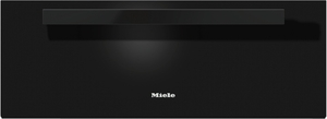 """ESW6880OB Miele 30"""" PureLine Warming Drawer with Fan-Assisted Heating System - Black"""