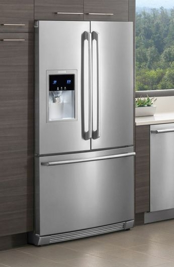 French door refrigerator electrolux counter depth for How to increase cabinet depth