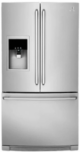 """EW23BC87SS Electrolux 36"""" 21.5 cu. ft. Capacity Counter Depth French Door Refrigerator with Wave-Touch Controls and Humidity Controlled Crispers - Stainless Steel"""