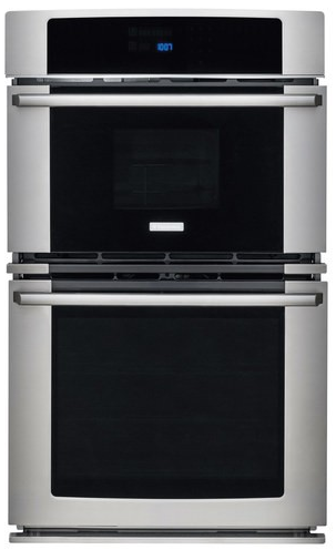 "EW27MC65PS Electrolux 27"" Electric Convection Wall Oven with Built-In Microwave - Stainless Steel"
