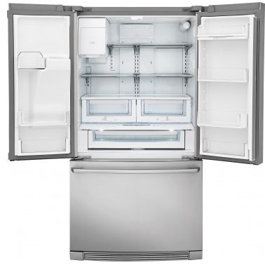 "EW28BS87SS Electrolux 36"" 26.7 cu. ft. Capacity French Door Refrigerator with Perfect Temp Drawer and Humidity Controlled Crispers - Stainless Steel"