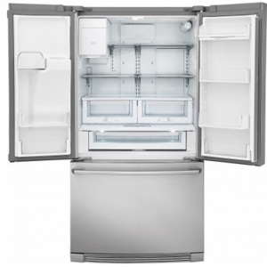 """EW28BS87SS Electrolux 36"""" 26.7 cu. ft. Capacity French Door Refrigerator with Perfect Temp Drawer and Humidity Controlled Crispers - Stainless Steel"""