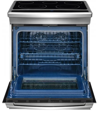 "EW30ES80RS Electrolux 30"" Electric Range with Self-Clean Porcelain Racks - Stainless Steel"