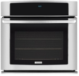"EW30EW55PS Electrolux - 30"" Electric Single 4.8 Cu. Ft. Wall Oven with Perfect Convection - Stainless Steel"