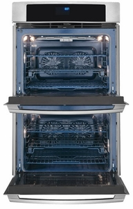 "EW30EW65PS Electrolux - 30"" Electric Double Wall Oven with Wave Touch Controls - Stainless Steel"