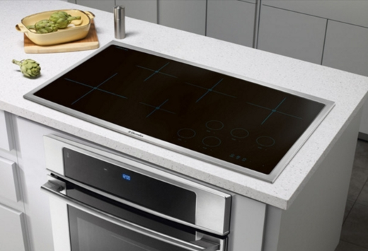 EW36IC60LS Electrolux - Induction Cooktop - Black with Stainless Trim