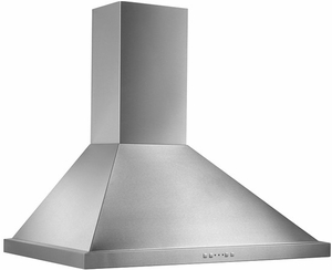 "EW5836SS Broan 36"" Traditional Canopy Wall Mount Chimeny Range Hood with 500 CFM Internal Blower and and HeatSentry - Stainless Steel"