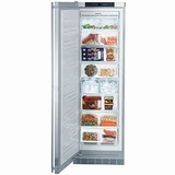 """F1051 Liebherr 24"""" Built-In All Freezer with Icemaker - Left Hinge - Stainless Steel"""