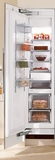 "F1413SF Miele 18"" All Freezer Fully Integrated Left Hinged - CleanTouch Stainless Steel"