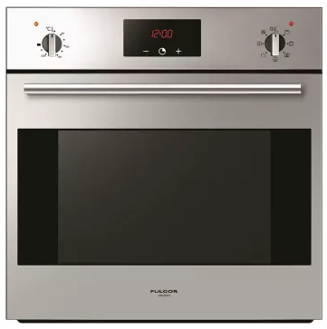 "F1SM24S2 Fulgor Milano 24"" 2.4 cu. ft. Single Wall Electric Oven with True European Convection and Concealed Bake Elements - Stainless Steel"