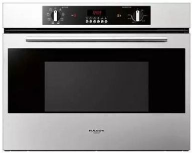 "F1SM30S1 Fulgor Milano 30"" 2.8 cu. ft. Single Electric Wall Oven with 8 Cooking Functions and Time Programmer - Stainless Steel"