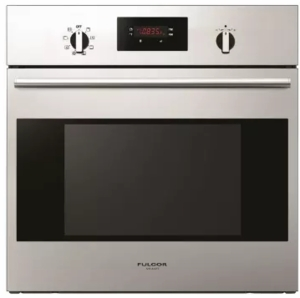"F1SP24S2 Fulgor Milano 24"" 2.6 cu. ft. Single Electric Wall Oven with Concealed Bake Elements and Pyrolytic Self-Clean - Stainless Steel"