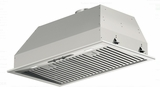"F4BP28S1 Fulgor Milano 28"" 400 Series Hood Insert with 600 CFM Blower and LED Lighting - Stainless Steel"