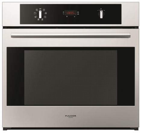 "F4SP30S1 Fulgor Milano 30"" 4.3 cu. ft. Single Electric Wall Oven with Pyrolytic Self-Clean and True European Convection Oven - Stainless Steel"