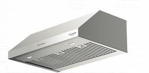"F4UC30S1 30"" Fulgor Milano 400 Series Under Cabinet Hood with 450 CFM Blower and LED Lighting - Stainless Steel"