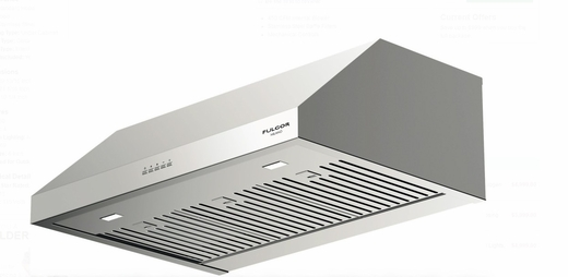 """F4UC30S1 30"""" Fulgor Milano 400 Series Under Cabinet Hood with 450 CFM Blower and LED Lighting - Stainless Steel"""