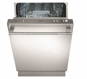 "F6DW24SS1 Fulgor Milano 24"" Fully Integrated Dishwasher with Turbidity Sensor,9 Wash Cycles and Designer Handle - Stainless Steel"