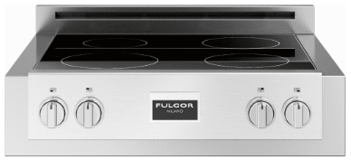 "F6IRT304S1 Fulgor Milano 30"" Electric Induction Rangetop with LED Power Display and Boost Function - Stainless Steel"