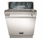 "F6PDW24SS1 Fulgor Milano 24"" Fully Integrated Dishwasher with Turbidity Sensor,9 Wash Cycles and Professional Handle - Stainless Steel"