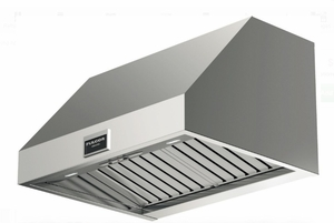 """F6PH30S1 30"""" Fulgor Milano 600 Series Professional Wall Mount Hood with 600 CFM Blower and LED Lighting - Stainless Steel"""